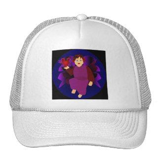 Angel Of Hearts Mesh Hat