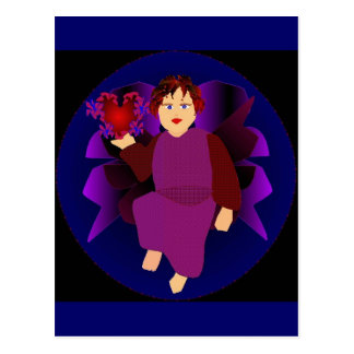 Angel Of Hearts Post Card