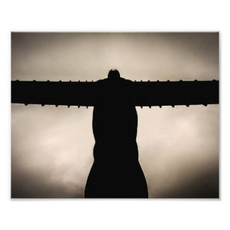Angel of the North silhouette Photograph