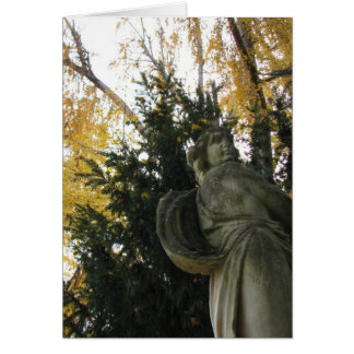 Angel Over Me Greeting Card