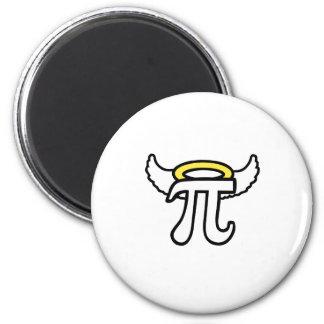 Angel Pi 6 Cm Round Magnet