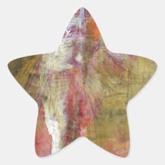 angel study f9 star sticker