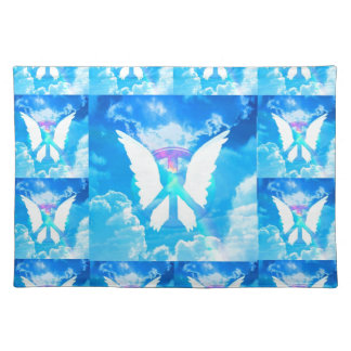 Angel Wings & Peace Placemat