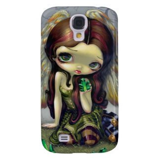 """""""Angel with Emeralds"""" iPhone 3 Case"""
