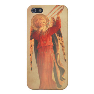 Angel with Trumpet iPhone 5 Cases