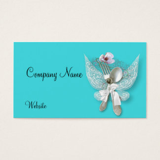 Angelic Silverware Business Card