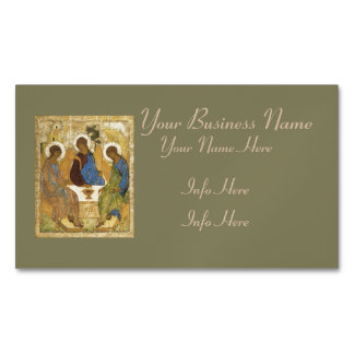Angels At Mamre Trinity Magnetic Business Card