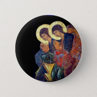 Angels of Annunciation 6 Cm Round Badge