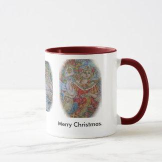 Angels of Christmas., The angel of the Christma... Mug