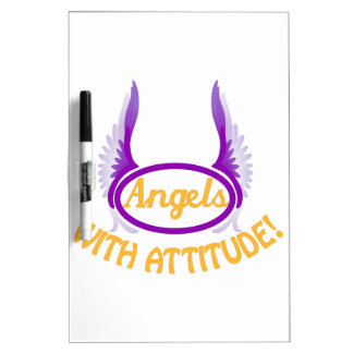 Angels With Attitude Dry Erase Board
