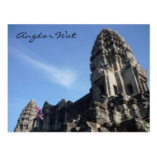 angkor rock postcard