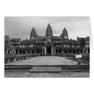 Angkor Wat B&W Card