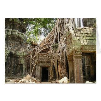 Angkor Wat Cambodia Card