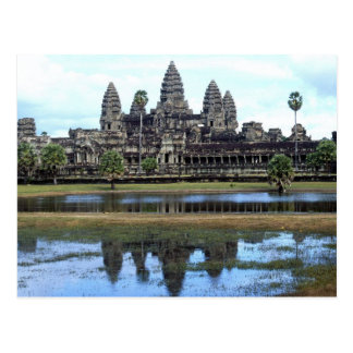 Angkor Wat Cambodia Temple Travel Photography Postcard
