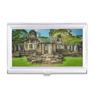 Angkor Wat temple Cambodia UNESCO Business Card Holder