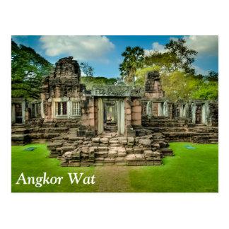 Angkor Wat temple Cambodia UNESCO Postcard