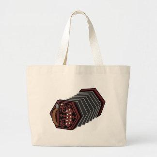 Anglo Concertina Large Tote Bag