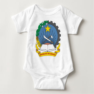 Angola Coat Of Arms Baby Bodysuit