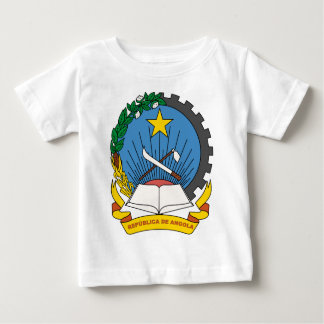 Angola coat of arms baby T-Shirt