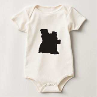 Angola country baby bodysuit