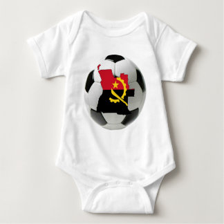 Angola national team baby bodysuit