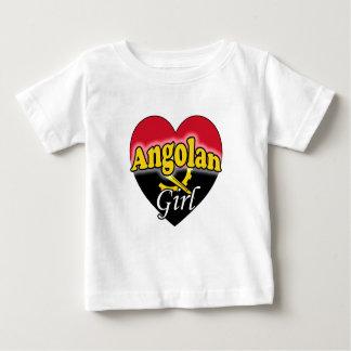 Angolan Girl Baby T-Shirt