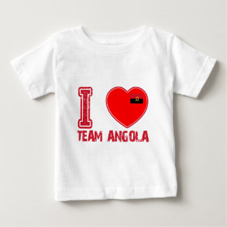 angolan team sports designs baby T-Shirt