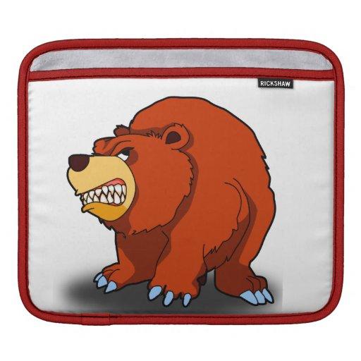 Angry Bear iPad Sleeve