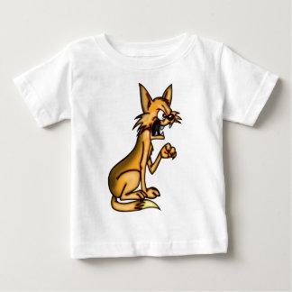 Angry Cartoon Cat Baby T-Shirt