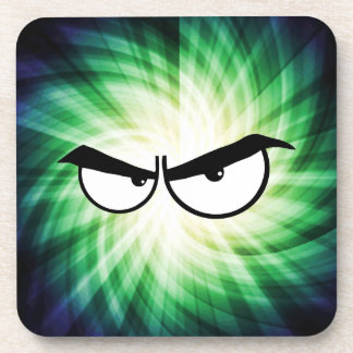 Angry Cartoon Eyes; Cool Coaster