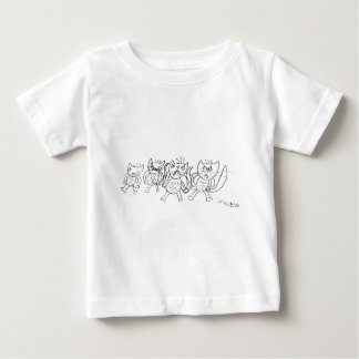 Angry Cats Baby T-Shirt