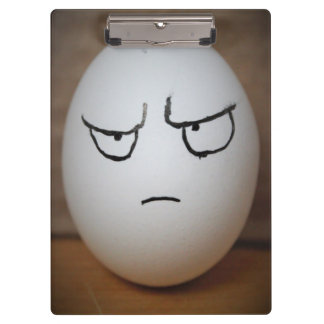 Angry Egg Clipboard