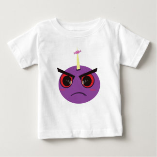 Angry Face Candy Baby T-Shirt