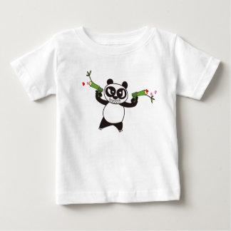 Angry Face Panda 28 Baby T-Shirt