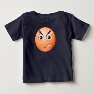 angry face toddlers tshirt