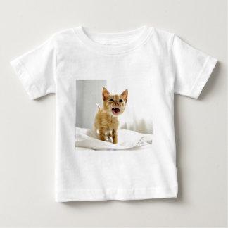 Angry Kitten Baby T-Shirt