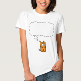 Angry Kitty Thought Bubble Shirts
