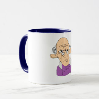 angry man mug