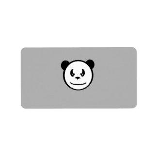Angry Panda Labels