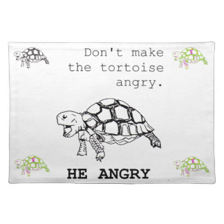 Angry Tortoise Placemat
