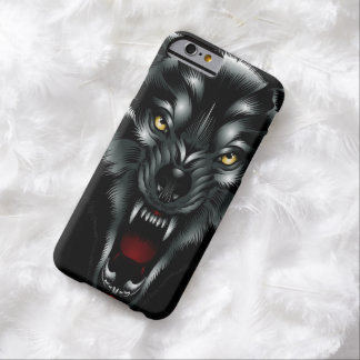 Angry Wolf Face Barely There iPhone 6 Case