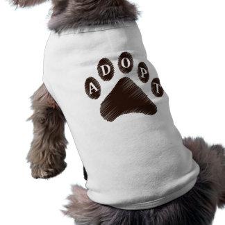 Animal Adoption Sleeveless Dog Shirt