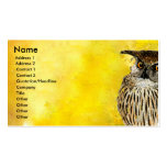 Animal Bird  Owl Business Cards