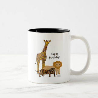Animal Birthday Mug