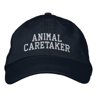 Animal Caretaker Embroidered Hat