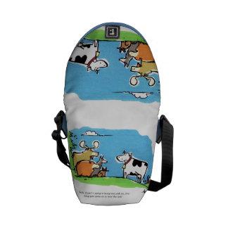Animal Click Messenger Bag