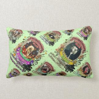 Animal Composers Spoof Music Lumbar Cushion