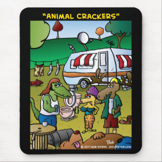 """Animal Crackers"" Mouse Pad"