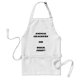 Animal Crackers or Duck Soup Apron