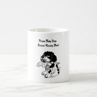 Animal Cruelty Basic White Mug